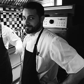 SENSE Christos Papatheodorou Sous Chef